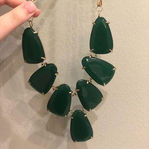 Green Kendra Scott Harlow Necklace